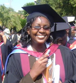 Monicah Wairimu, PATHWAYS first graduate